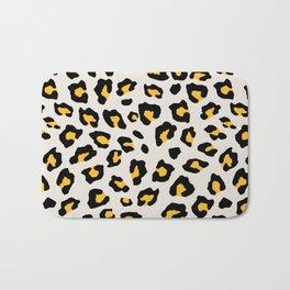 Leopard Print - Mustard Yellow Badematte