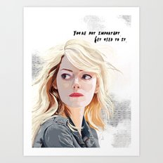 You're Not Important. Art Print