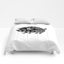 Zentangle Pig Comforters