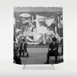 Guernica in Tokyo Shower Curtain