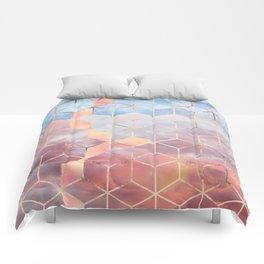 Magic Sky Cubes Comforters
