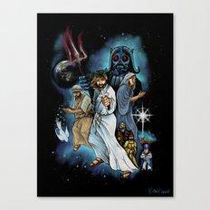 Jesus Christ Super StarWars Canvas Print