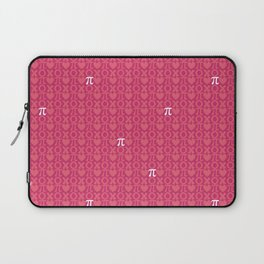 Hugs, Kisses, Love, and Pi - Pink  Laptop Sleeve