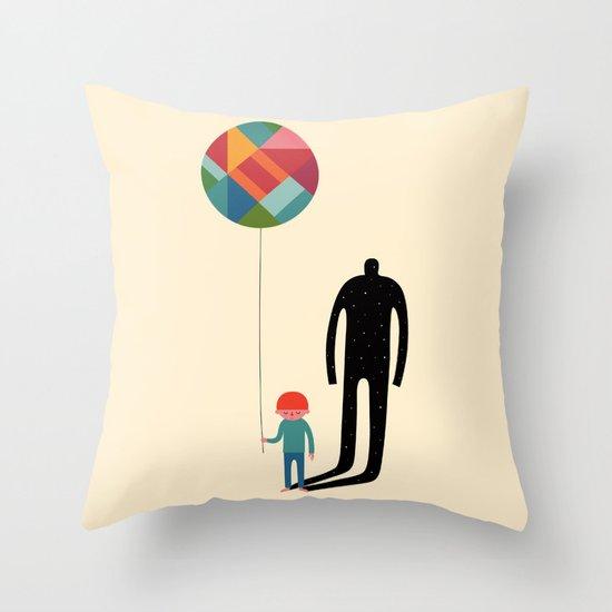 Grow Up Throw Pillow