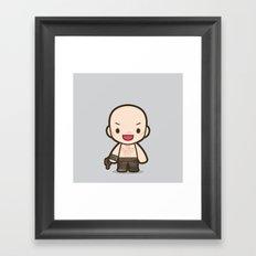 War Boy Framed Art Print