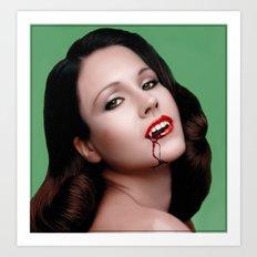 The Vamp Art Print