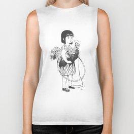 Rooster Girl Biker Tank