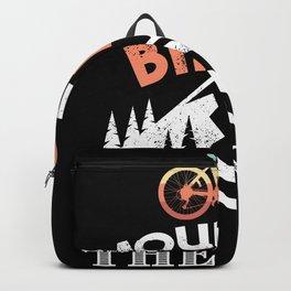 Mountain Biking heals the Soul MTB Gift Backpack