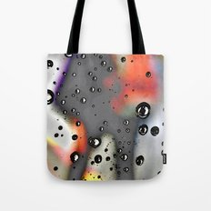 Pearly dew drops drop Tote Bag