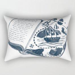 A Vivid Imagination Rectangular Pillow