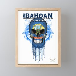 To The Core Collection: Idaho Framed Mini Art Print