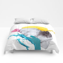 Two Face (edit) Comforters
