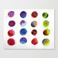 Dot Com Canvas Print