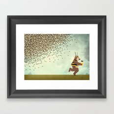 The Scheme Framed Art Print