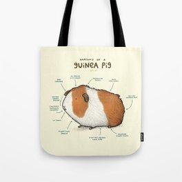 Anatomy of a Guinea Pig Tote Bag