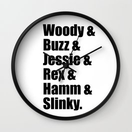 Toy Story Squad Wall Clock