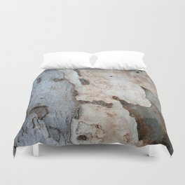 Bark Of A Eucalyptus Tree  Duvet Cover
