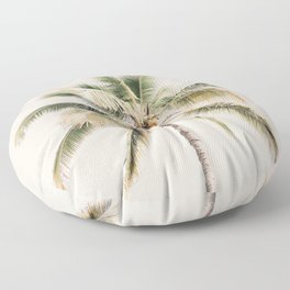 Tropical Palm Tree Floor Pillow