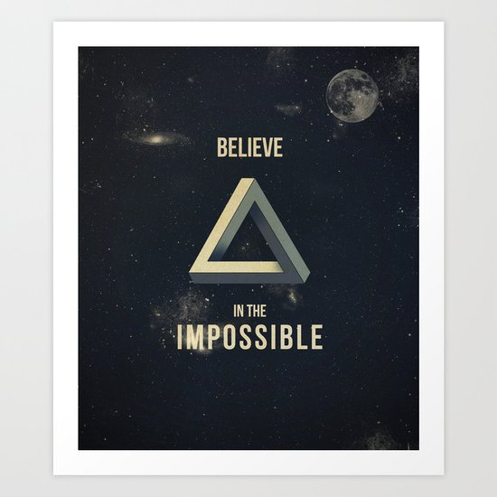 Impossible Art Print