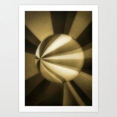 Sol Adentro, obscuro Art Print
