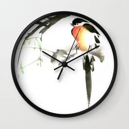 Chinese Shui-mo(水墨)- Bird Wall Clock