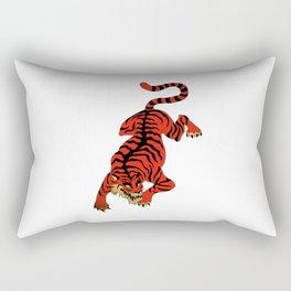 Tattoo Tiger Rectangular Pillow