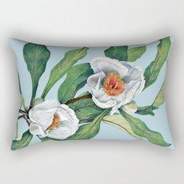 Franklin tree flowers Rectangular Pillow