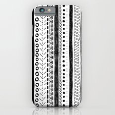 Black and White Pattern 2 iPhone 6s Slim Case