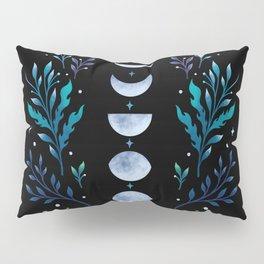 Moonlight Garden - Blue Pillow Sham