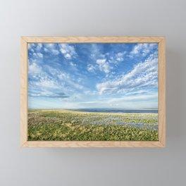 Malheur Lake Basin Replenished Framed Mini Art Print