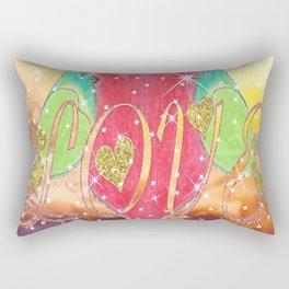"""""""Lovebirds"""" Rectangular Pillow"""