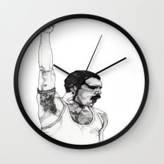 We Will Rock You Wall Clock