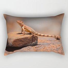 Karijini Lizard Rectangular Pillow