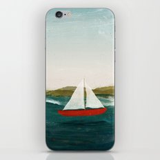The Boat that Wants to Float iPhone & iPod Skin
