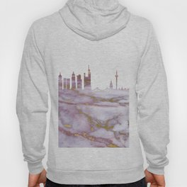 Frankfurt Germany Skyline Hoody