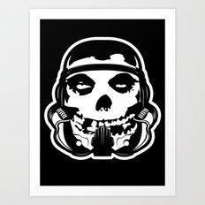 MisFit Trooper Art Print