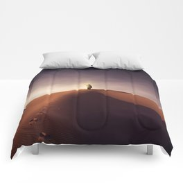 Man on fire Comforters