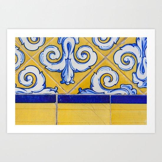Mercado Tiles Art Print