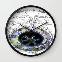 Draining Wall Clock