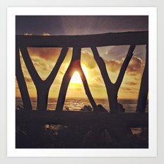 Mexico Sunrise Art Print
