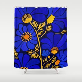 Wildflower Garden Shower Curtain