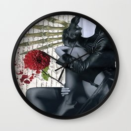 Pompous saliva Wall Clock