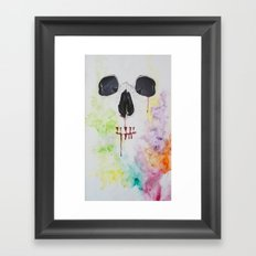 A beautiful array of something gone wrong Framed Art Print