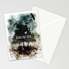 arbores loqui latine Stationery Cards