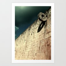The Ball Court Art Print