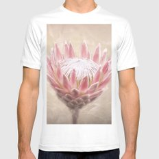 Pretty in Pink Mens Fitted Tee White MEDIUM