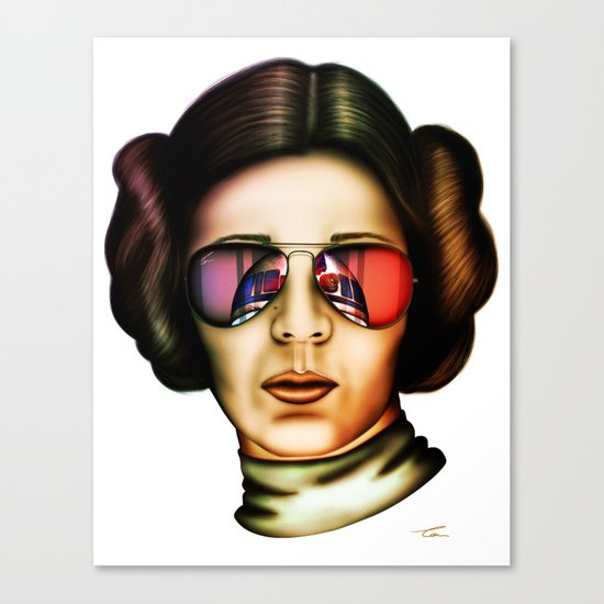 STAR WARS Princess Leia  Canvas Print