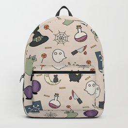 halloween print  Backpack