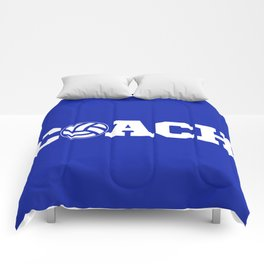 Coach Volleyball Comforters
