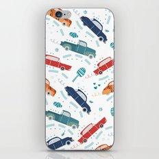 50's cars iPhone & iPod Skin